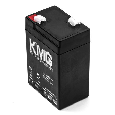 KMG 6V 4Ah Replacement Battery for Hubbell 1200005 120000000000 - image 2 of 3