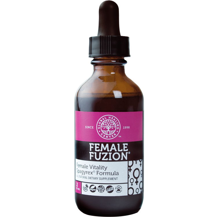 Global Healing Center Female Fuzion Hormone Support