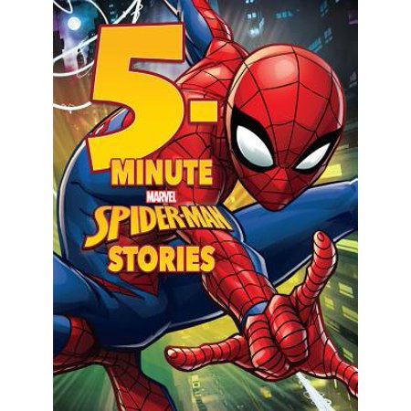 5-Minute Spider-Man Stories (Hardcover)