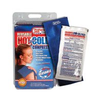 Hot/Cold Latex Free Reusable Compress With Cover, Size: 5X10 Inches - 1 Ea
