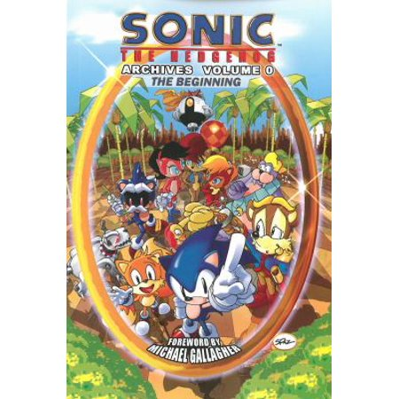 Sonic The Hedgehog Archives 0  The Beginning