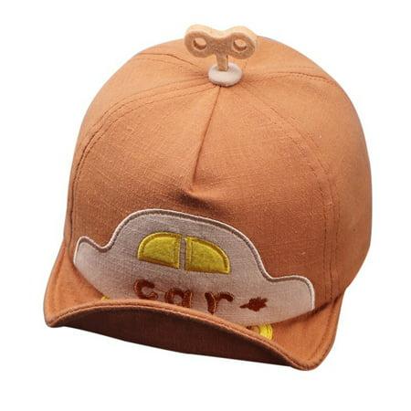ZEWELL Summer Baby Hat Car Boys Baseball Cap Toddler Cartoon Casual Hip Hop Sunhat Snapback Caps](Car Hop Hat)