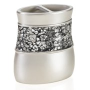Creative Scents Brushed Nickel Toothbrush Holder