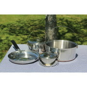Family Stainless Steel Camping Cook Set