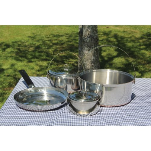Texsport - Family Stainless Steel Cook Set