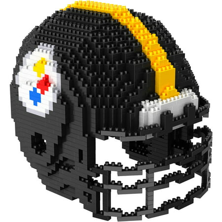(Forever Collectibles 3D BRXLZ Mini Helmet, Pittsburgh Steelers)