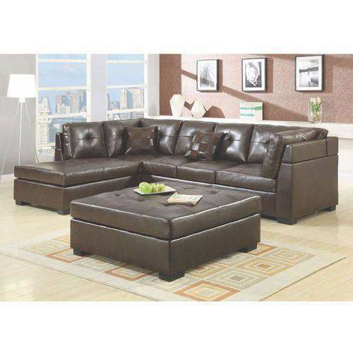 Coaster Company Darie Sectional in Brown