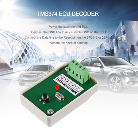 TMS374 ECU Decoder Frequency Sweeper MCU Auto Programmer