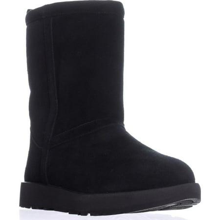 Womens UGG Australia Classic Short Winter Boots, Black (Short Classic Ugg)