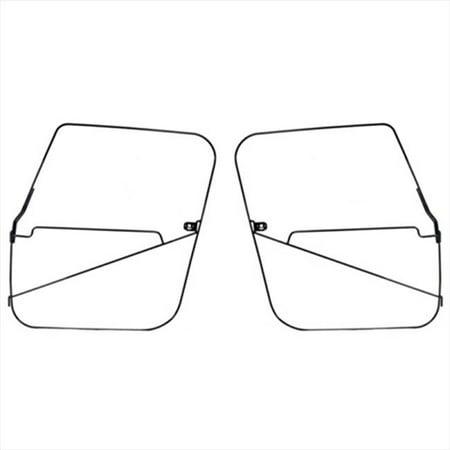 Soft Top Full Door Frames, 76-86 Jeep CJ7 Models