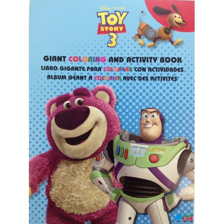 Toy Story Buzz Woody Jessie Jumbo 64 pg. Coloring and Activity Book - Blue](Woody And Jessie)