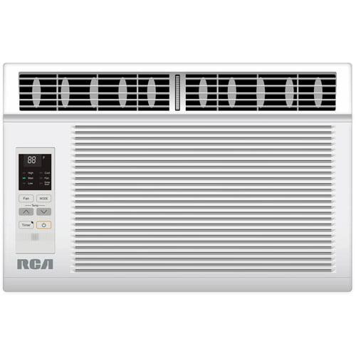 RCA RACE8002E 8,000-BTU Electronic Window Air Conditioner, White