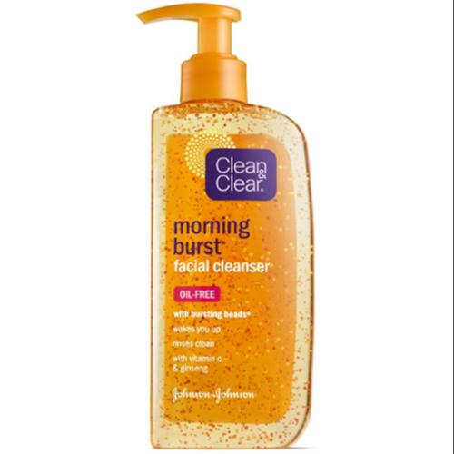 CLEAN & CLEAR Morning Burst Facial Cleanser 8 oz (Pack of 3)