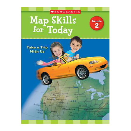 Map Skills for Today: Grade 2 : Take a Trip with Us - Halloween Map Skills