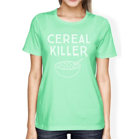 Cereal Killers Halloween (Cereal Killer Shirt Funny Halloween Tshirt Womens Cute Graphic)