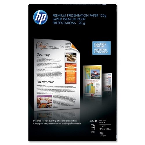 HP Color Laser Presentation Paper, Glossy (250 Sheets, 11...