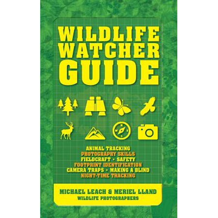 - Wildlife Watcher Guide : Animal Tracking - Photography Skills - Fieldcraft - Safety - Footprint Indentification - Camera Traps - Making a Blind - Night-Timetracking