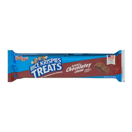 Kellogg's Rice Krispies Treats Double Chocolately Chunk, 2.5 OZ (Halloween Rice Crispy Treats)