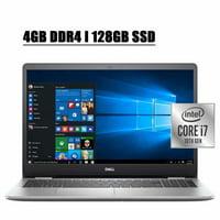 2020 Newest Dell Inspiron 15 5000 5593 Business Laptop Computer I 15.6'' Full HD Touchscreen I 10th Gen Intel Quad-Core i7-10510U I 4GB DDR4 128GB SSD I MaxxAudio Pro Backlit Keyboard WIFI Win 10