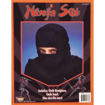 Black Ninja Mask (NINJA SET)