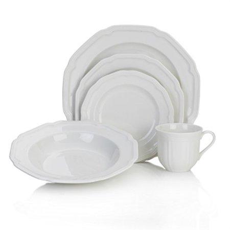 mikasa antique white 40-pc. dinnerware covid 19 (Mikasa Dinner Sets coronavirus)
