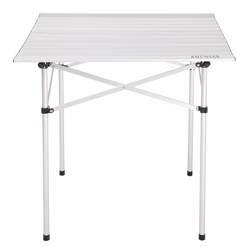 Camping Outdoor Picnic Table Top Folding Aluminum Table TPBY by