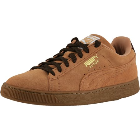 Puma Men s Suede Classic Casual Sandstorm   Oxford   Gum Ankle-High Suede  Fashion Sneaker 49dc134a6