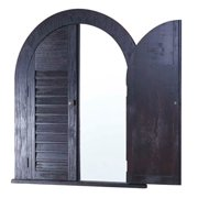 Contemporary Mirror with Door