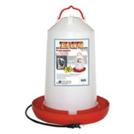 Hpf-100 100W 3Gal Heated Poultry Fount, Farm Innovators Inc, EACH, EA, Three gal