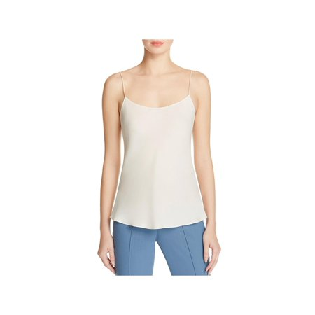 Theory Womens Teah Silk Georgette Camisole (Ladies Silk Camisoles)
