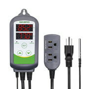 Inkbird ITC-308 Digital Temperature Controller 2-Stage Outlet Thermostat Heating and Cooling Mode10V 10A 1100W