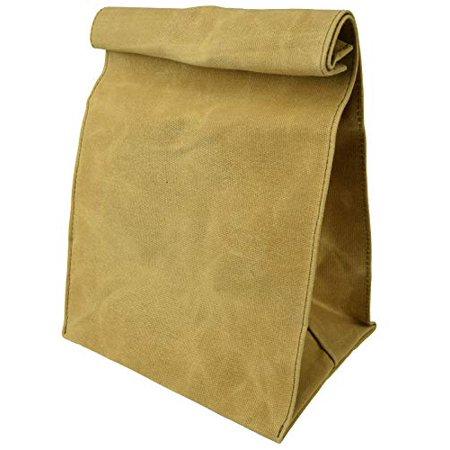 Waxed Canvas Reusable Lunch Bag - image 1 de 1