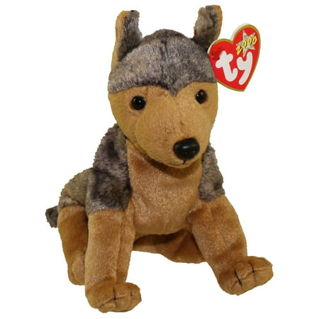 TY Beanie Baby - SARGE the German Shepherd Dog (6 inch)