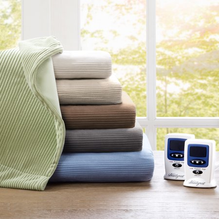 Beautyrest Electric Micro Fleece Heated Solid - Beautyrest Electric Blanket