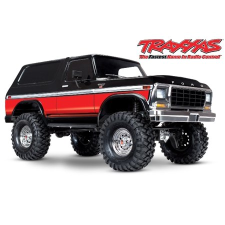 Traxxas 82046-4-RED Bronco Ranger XLT TRX-4 1/10 Scale and Trail Crawler