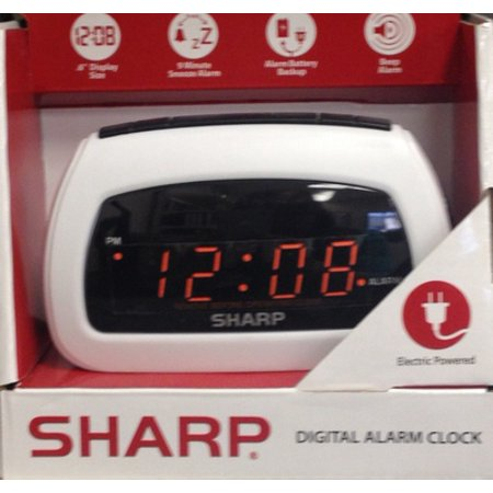 La Crosse Technology Color Alarm Clock with Temperature and