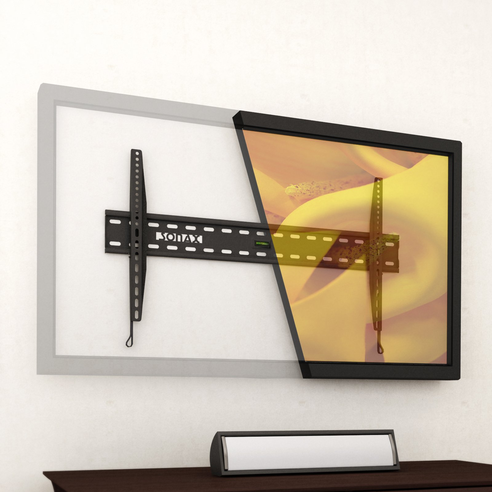 """Sonax E-0155-MP Fixed Low Profile Wall Mount for 32"""" 65"""" TVs by SONAX"""