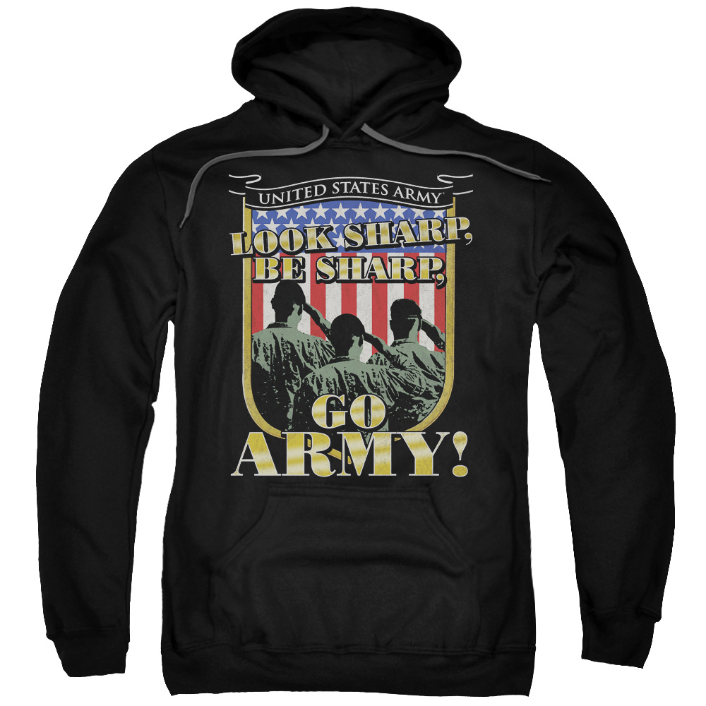Army Go Army Mens Pullover Hoodie
