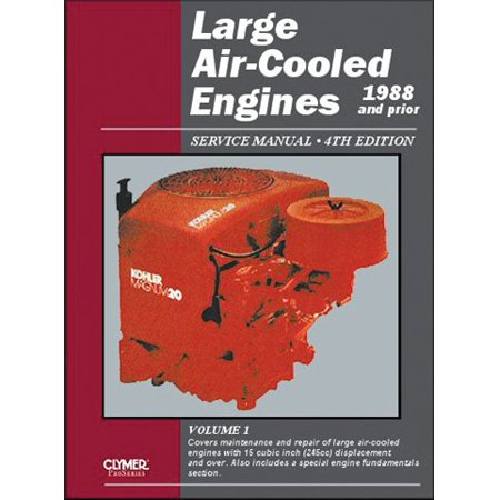 Clymer Les1 4 Large Air Cooled Engine Service Manual Vol  1