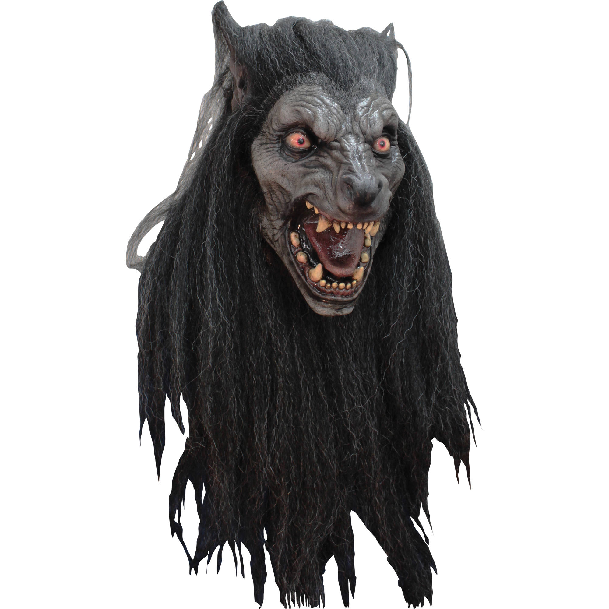 Black Moon Mask Adult Halloween Accessory