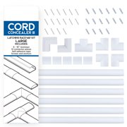 Cord Organizer Kit- Latching Cable Management-Covers by Edison Supply
