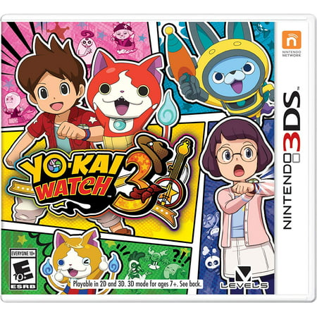 Yo-Kai Watch 3, Nintendo, Nintendo 3DS,