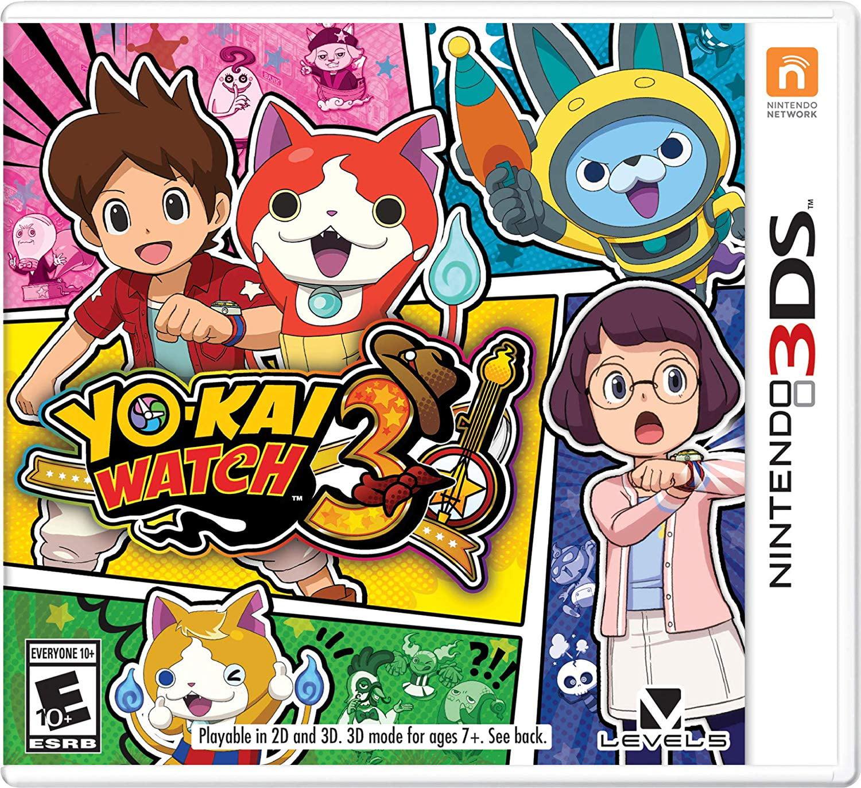 Yo-Kai Watch 3, Nintendo, Nintendo 3DS, 045496682378