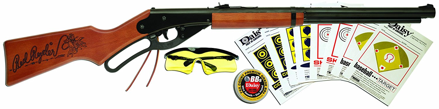 Outdoor Products Red Ryder Fun Kit Boxed (Brown Black, 35.4 Inch), USA, Brand Daisy by