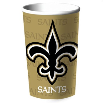New Orleans Saints 22oz Plastic Stadium Cup - Hallmark