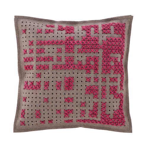 GAN RUGS Canevas Wool Throw Pillow