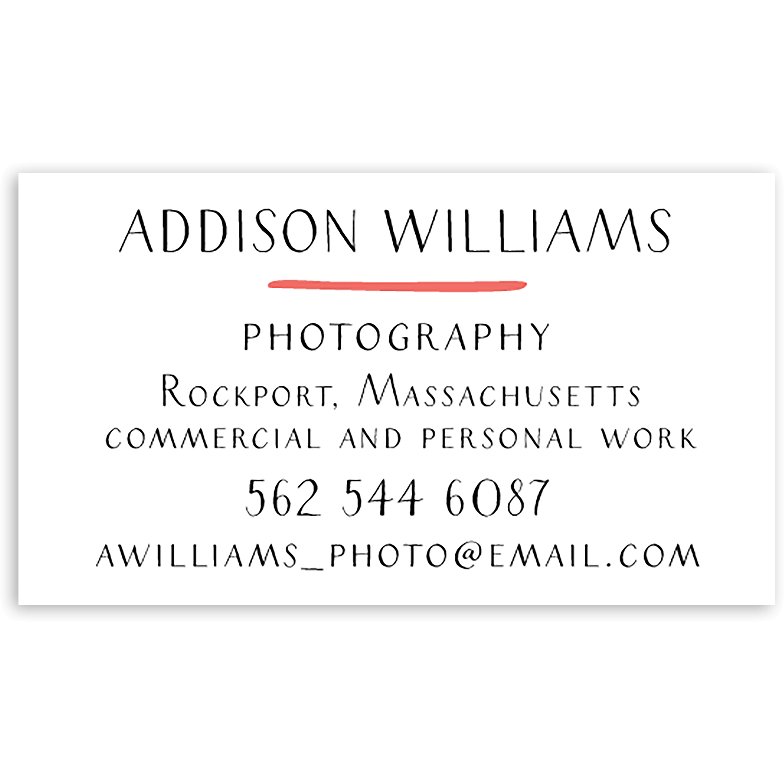 lots of Awesome - Personalized 3.5 x 2 Business Card
