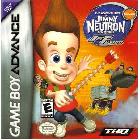 Jimmy Neutron: Jet Fusion GBA