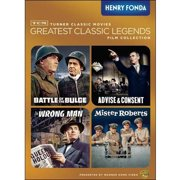 TCM Greatest Classic Films Collection: Henry Fonda The Wrong Man   Mister Roberts   Battle Of The Bulge   Advise &... by