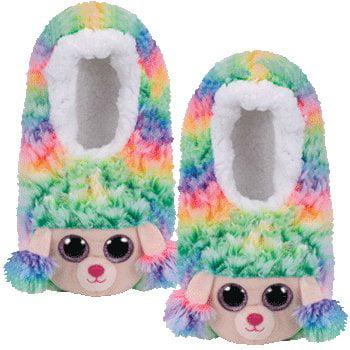 Ty Rainbow - slipper socks large Ty Rainbow - slipper socks large - Rainbow Dash Slippers